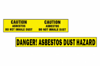 westernex asbestos safety tape